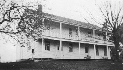 The first Winchester Grange Hall - Circa 1920