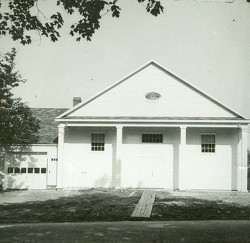 The rebuilt hall - 1952